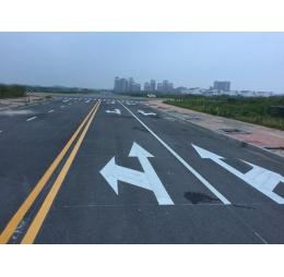 池州道路标线施工案例