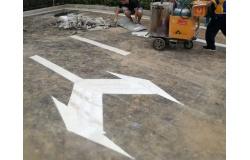 铜陵道路标线施工中可能出现的问题及解决方法
