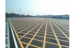 阡陌通详解突起路标停车场划线施工方案与方法